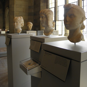 Pedestals, Coins and Medals cases, Yale University Art Gallery