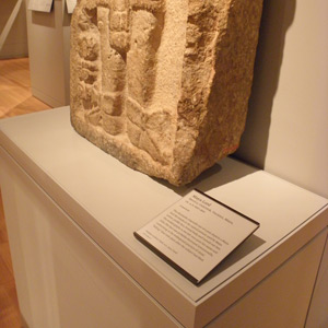 Pedestal with Labelholder, Yale University Art Gallery