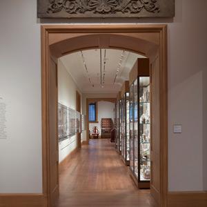 American Decorative Arts Silver Gallery, Yale University Art Gallery